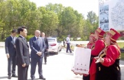 Делегация КНР посетила государственный музей-заповедник С.А. Есенина