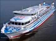 Теплоход «Сергей Есенин» выполнит рейс по «Московской кругосветке»